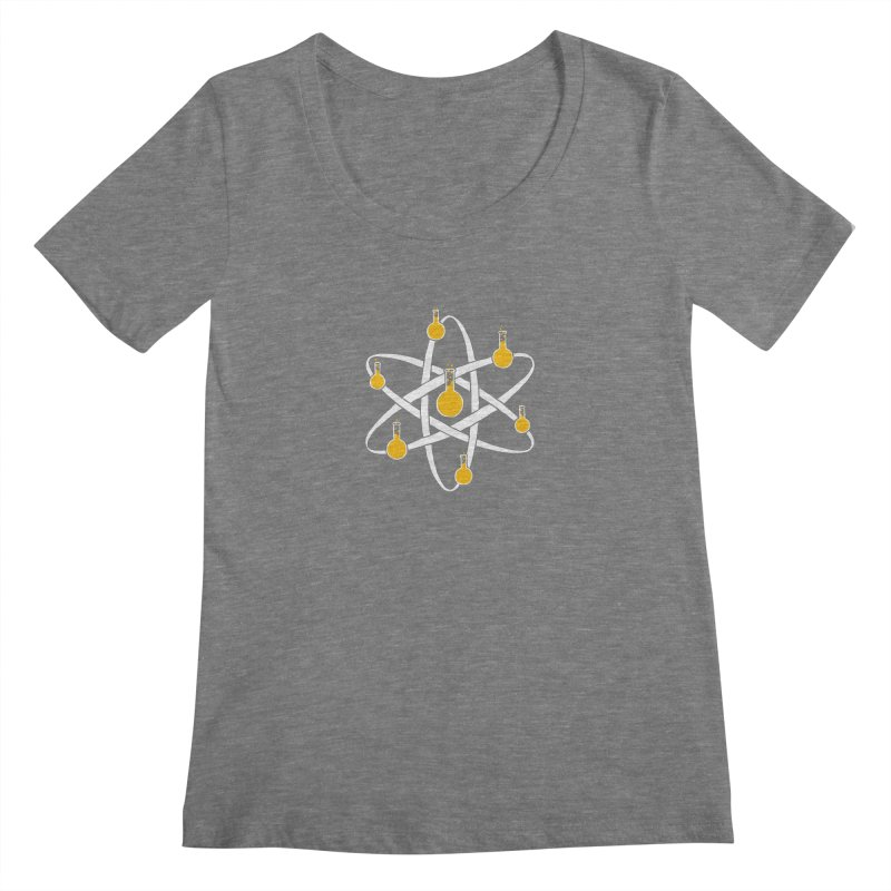 Atomic Tube Women's Scoopneck by eikwox's Artist Shop