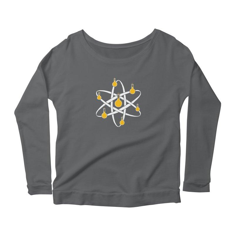 Atomic Tube Women's Scoop Neck Longsleeve T-Shirt by eikwox's Artist Shop