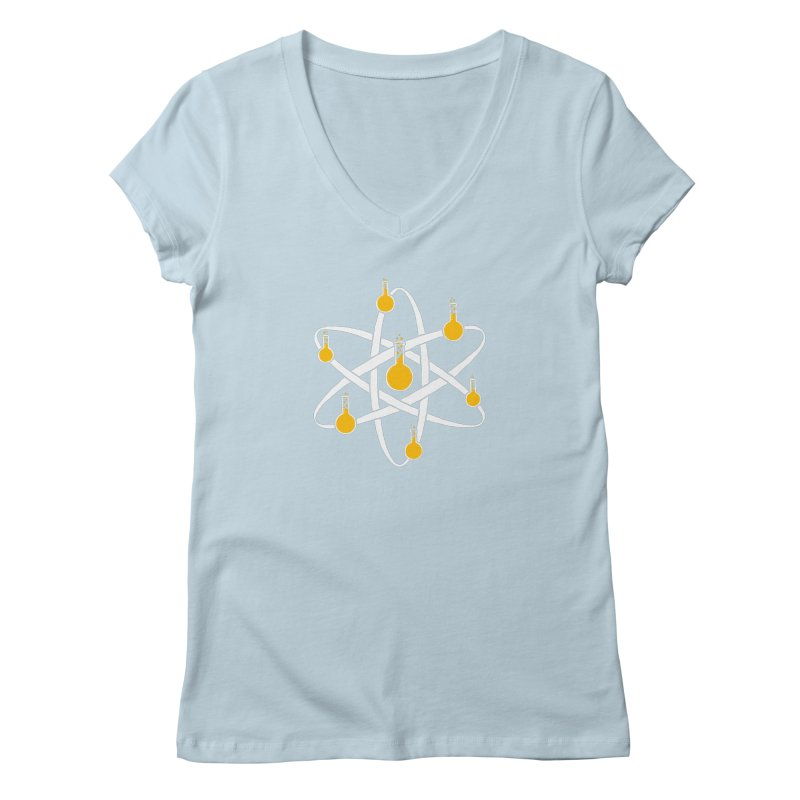 Atomic Tube Women's V-Neck by eikwox's Artist Shop