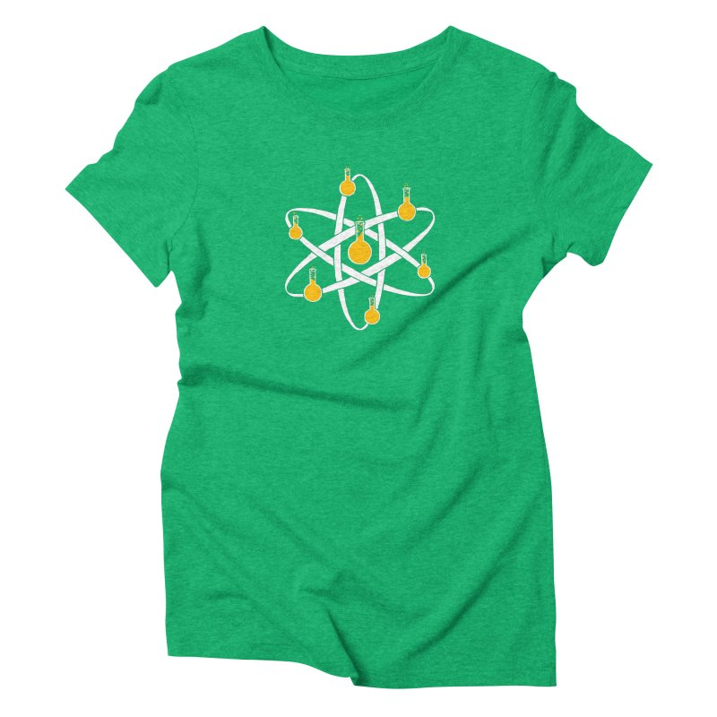Atomic Tube Women's Triblend T-shirt by eikwox's Artist Shop