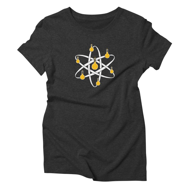 Atomic Tube Women's Triblend T-shirt by eikwox's Artist Shop