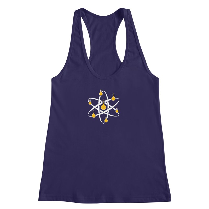 Atomic Tube Women's Racerback Tank by eikwox's Artist Shop