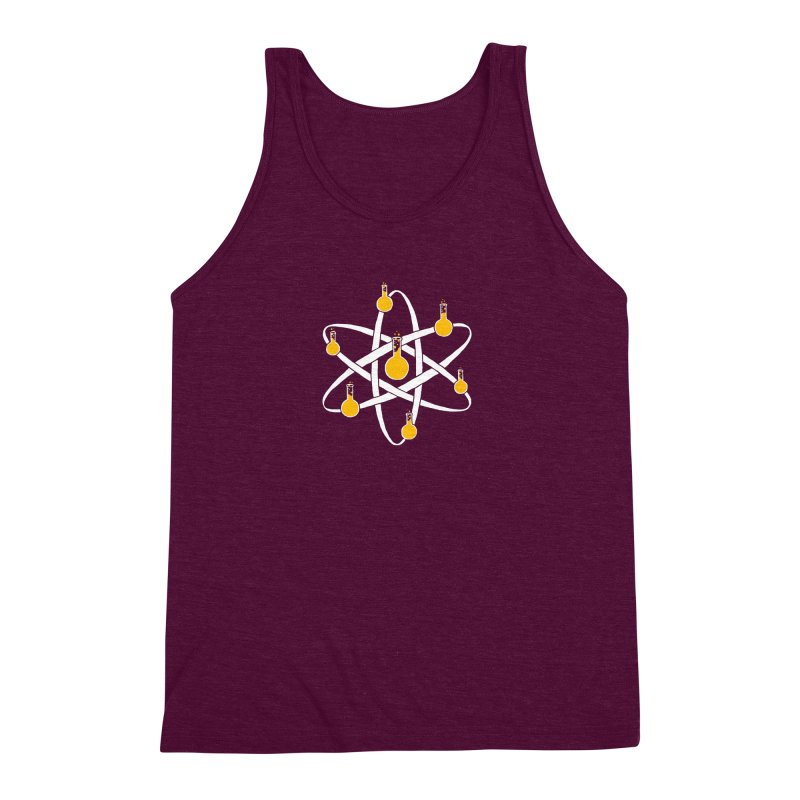 Atomic Tube Men's Triblend Tank by eikwox's Artist Shop