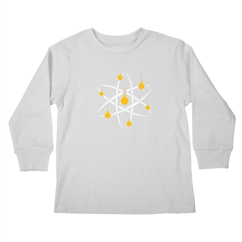 Atomic Tube Kids Longsleeve T-Shirt by eikwox's Artist Shop