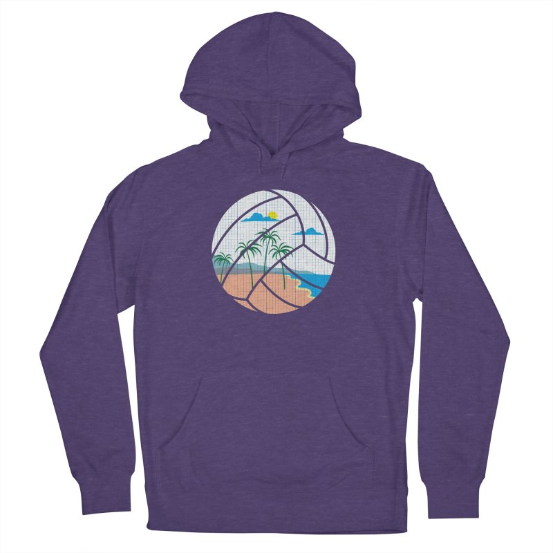 Beach Volleyball Women's Pullover Hoody by eikwox's Artist Shop