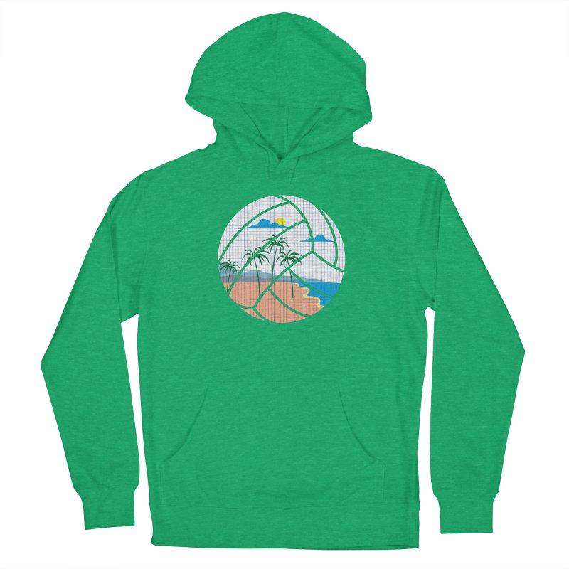 Beach Volleyball Men's Pullover Hoody by eikwox's Artist Shop