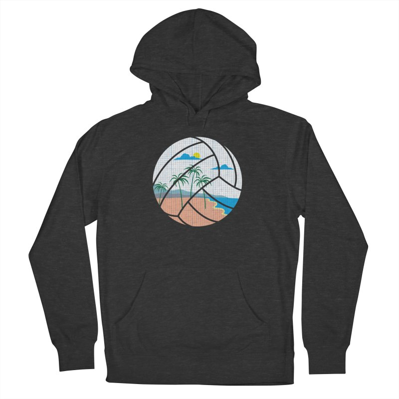 Beach Volleyball Men's Pullover Hoody by eikwox's Artist Shop