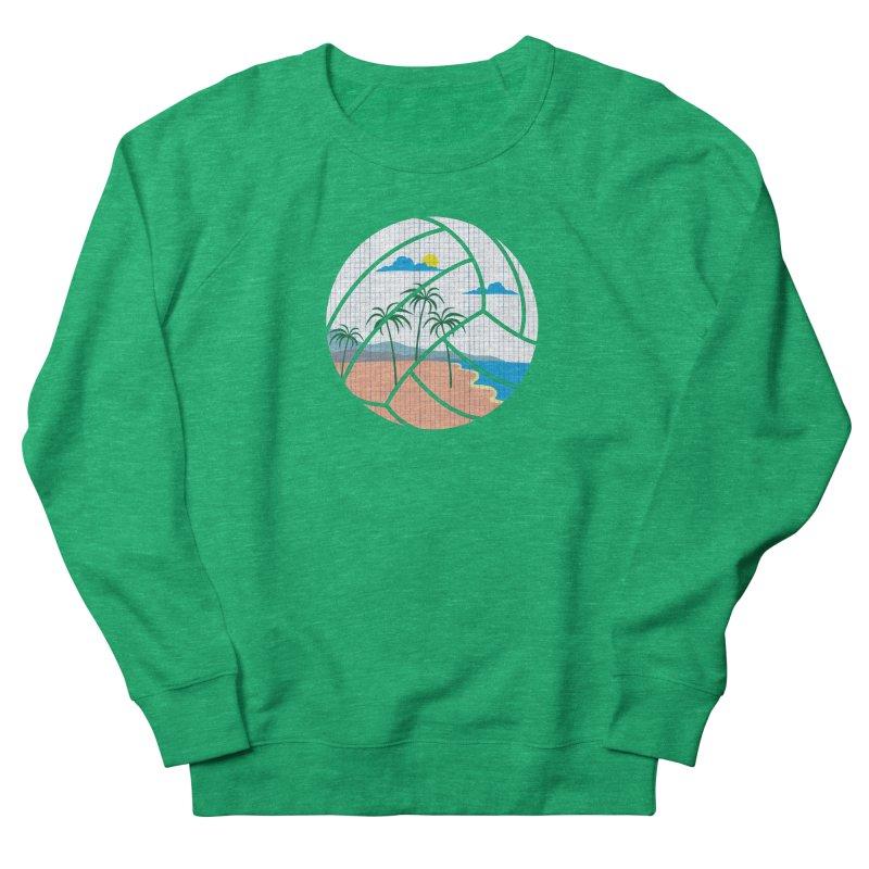 Beach Volleyball Women's Sweatshirt by eikwox's Artist Shop