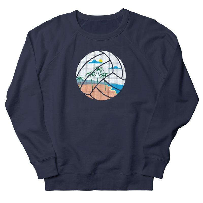 Beach Volleyball Women's French Terry Sweatshirt by eikwox's Artist Shop
