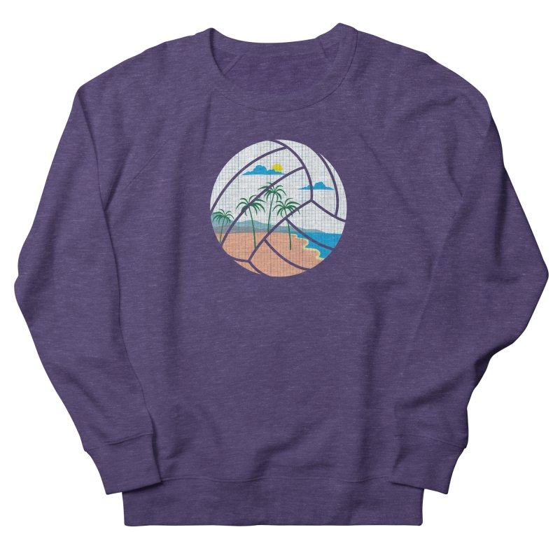 Beach Volleyball Men's Sweatshirt by eikwox's Artist Shop