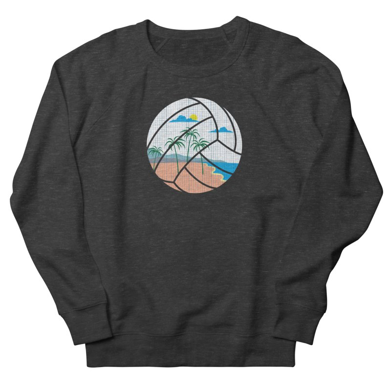 Beach Volleyball Men's Sweatshirt by eikwox's Artist Shop