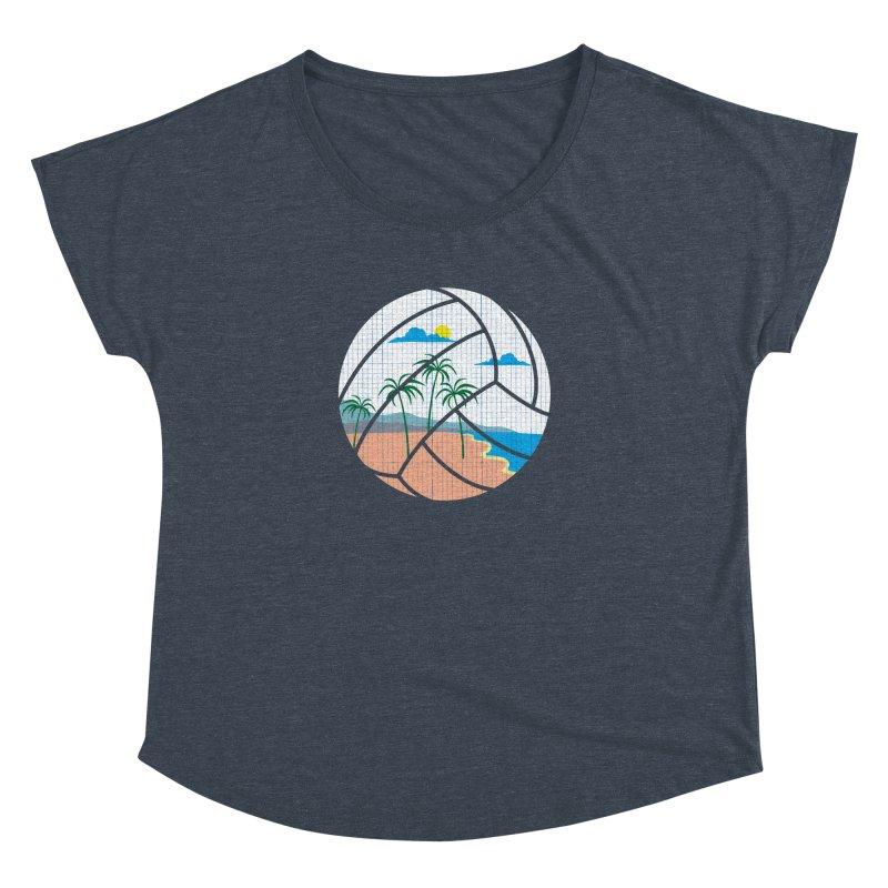 Beach Volleyball Women's Dolman by eikwox's Artist Shop