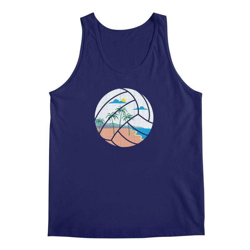 Beach Volleyball Men's Tank by eikwox's Artist Shop