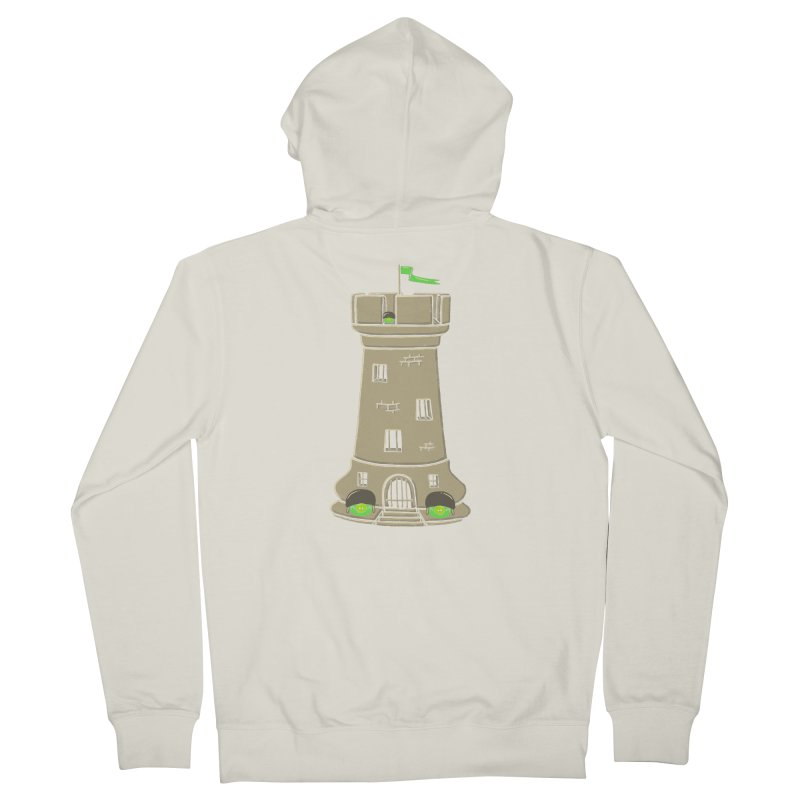 Bastion Men's Zip-Up Hoody by eikwox's Artist Shop