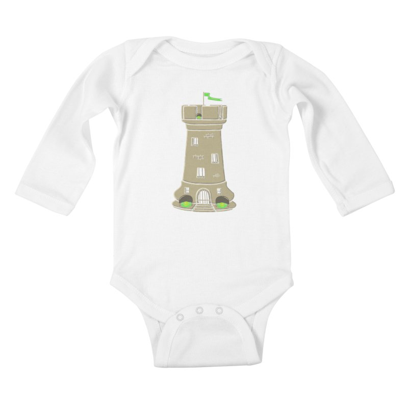Bastion Kids Baby Longsleeve Bodysuit by eikwox's Artist Shop