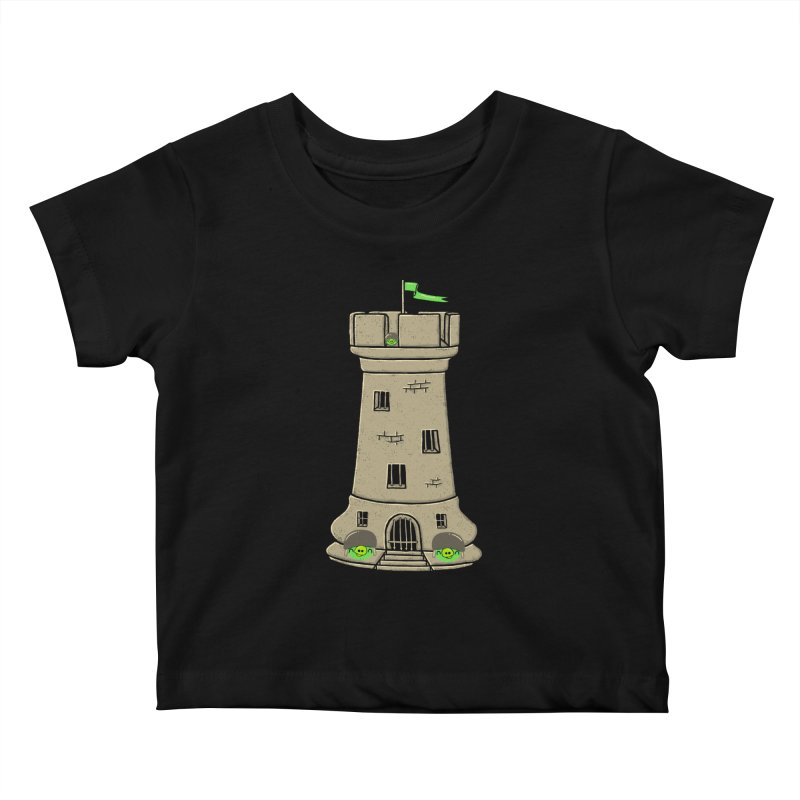 Bastion Kids Baby T-Shirt by eikwox's Artist Shop