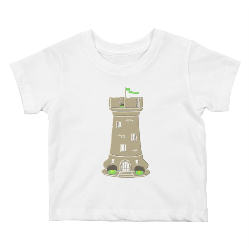 Bastion Kids Baby T-Shirt by eikwox's Artist Shop