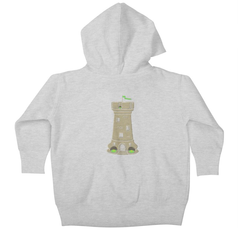 Bastion Kids Baby Zip-Up Hoody by eikwox's Artist Shop