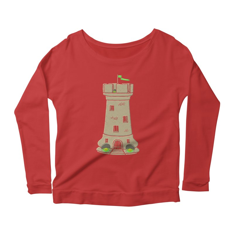 Bastion Women's Longsleeve Scoopneck  by eikwox's Artist Shop