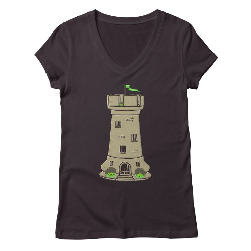 Bastion Women's Regular V-Neck by eikwox's Artist Shop
