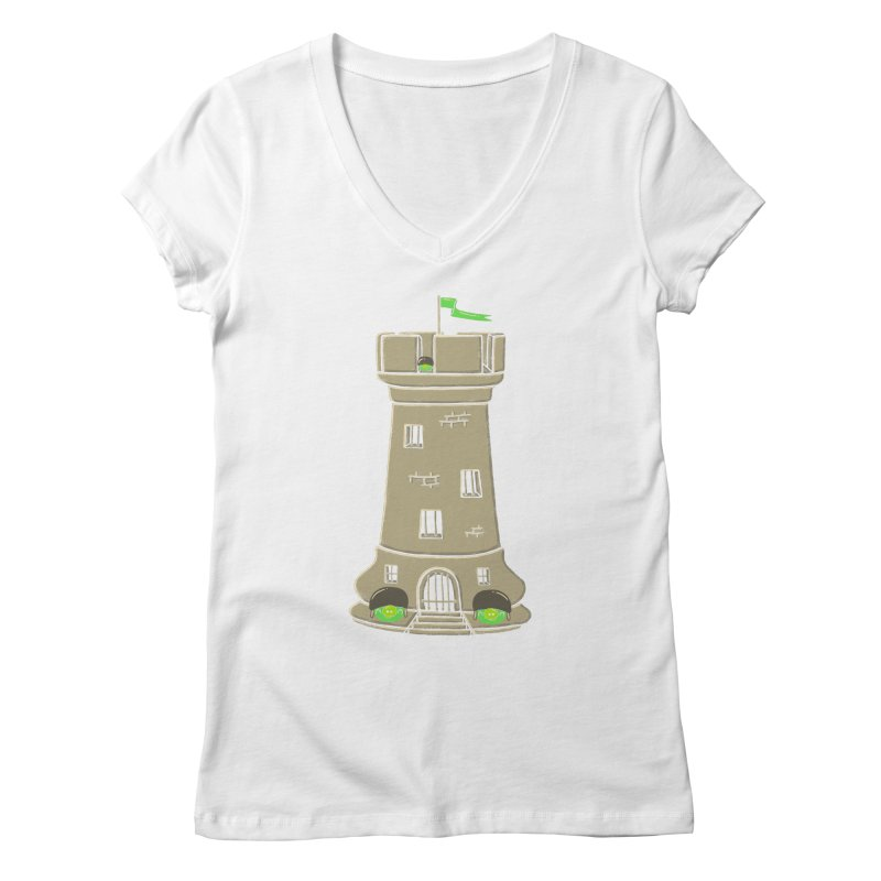 Bastion Women's V-Neck by eikwox's Artist Shop