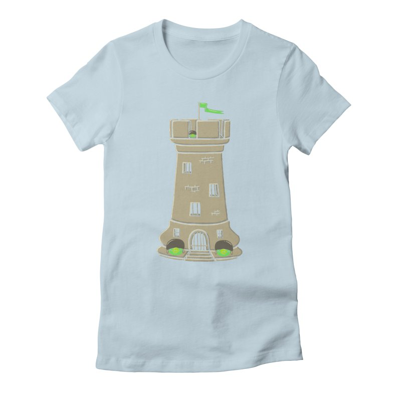 Bastion Women's Fitted T-Shirt by eikwox's Artist Shop