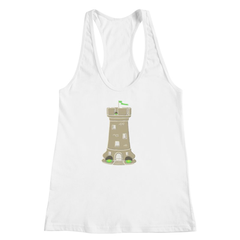 Bastion Women's Racerback Tank by eikwox's Artist Shop