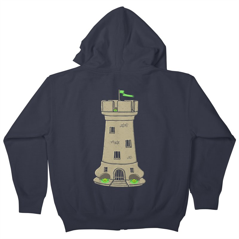 Bastion Kids Zip-Up Hoody by eikwox's Artist Shop
