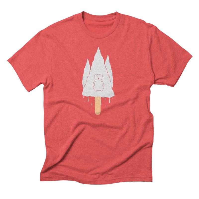 Tear Bear Men's Triblend T-shirt by eikwox's Artist Shop