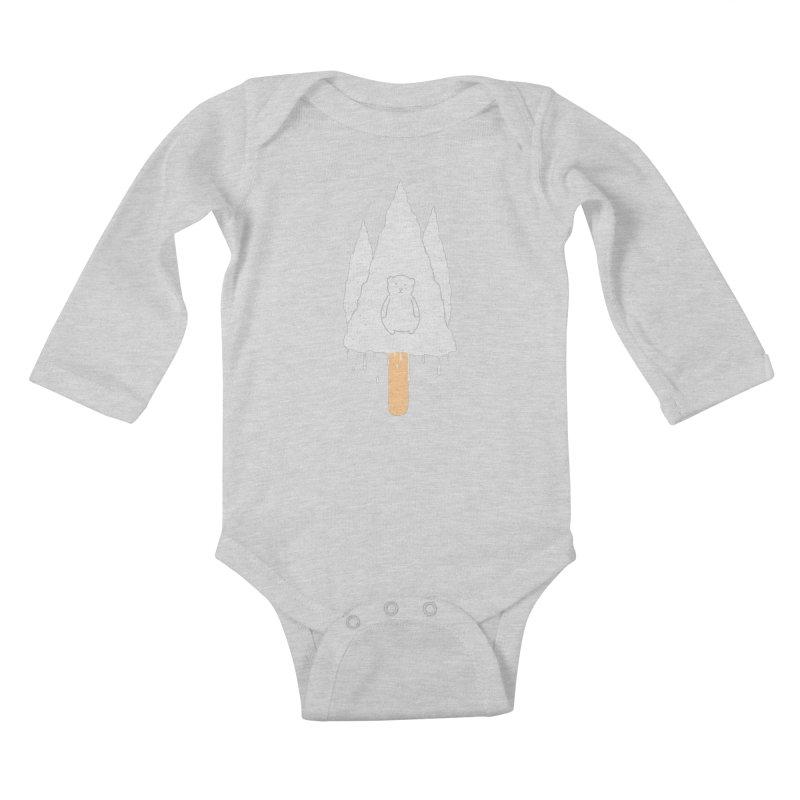 Tear Bear Kids Baby Longsleeve Bodysuit by eikwox's Artist Shop
