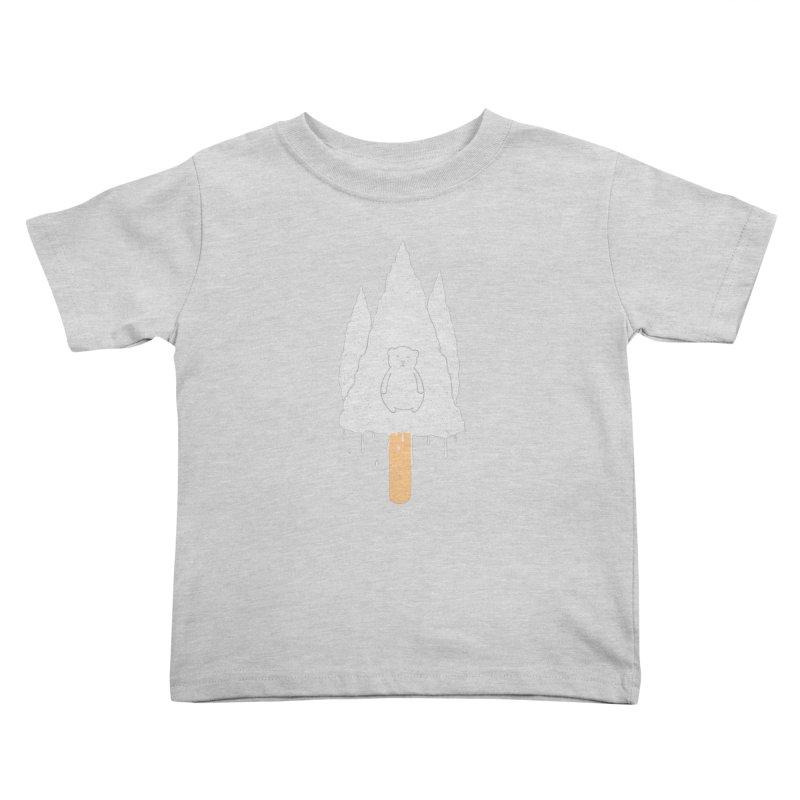 Tear Bear Kids Toddler T-Shirt by eikwox's Artist Shop