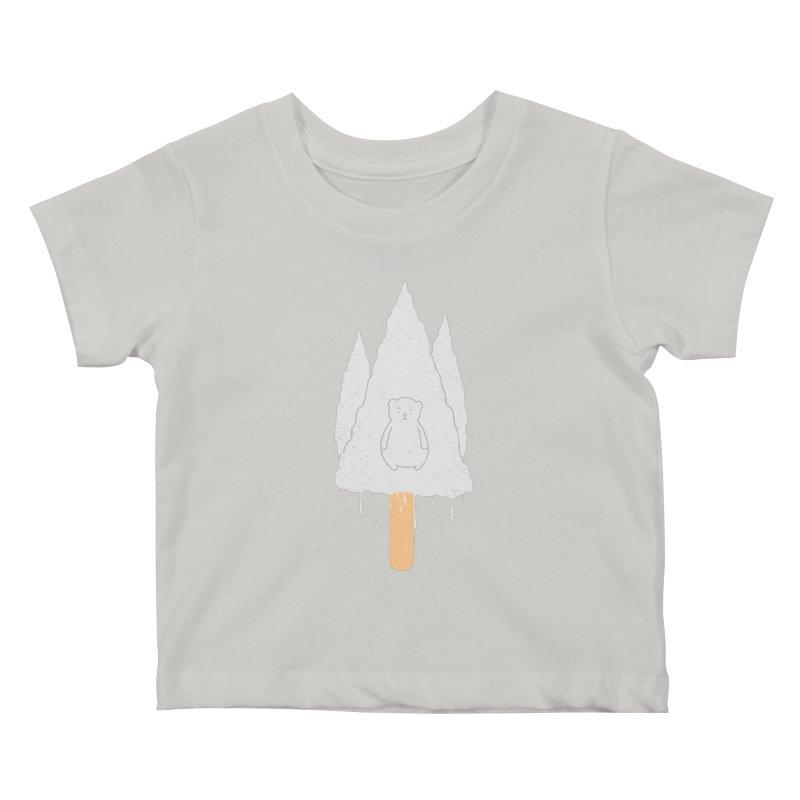 Tear Bear Kids Baby T-Shirt by eikwox's Artist Shop