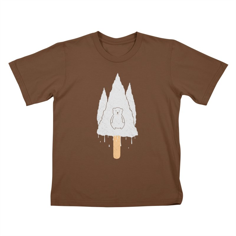 Tear Bear Kids T-shirt by eikwox's Artist Shop