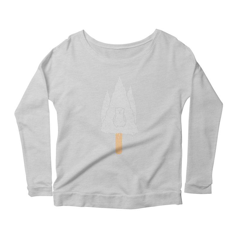 Tear Bear Women's Scoop Neck Longsleeve T-Shirt by eikwox's Artist Shop