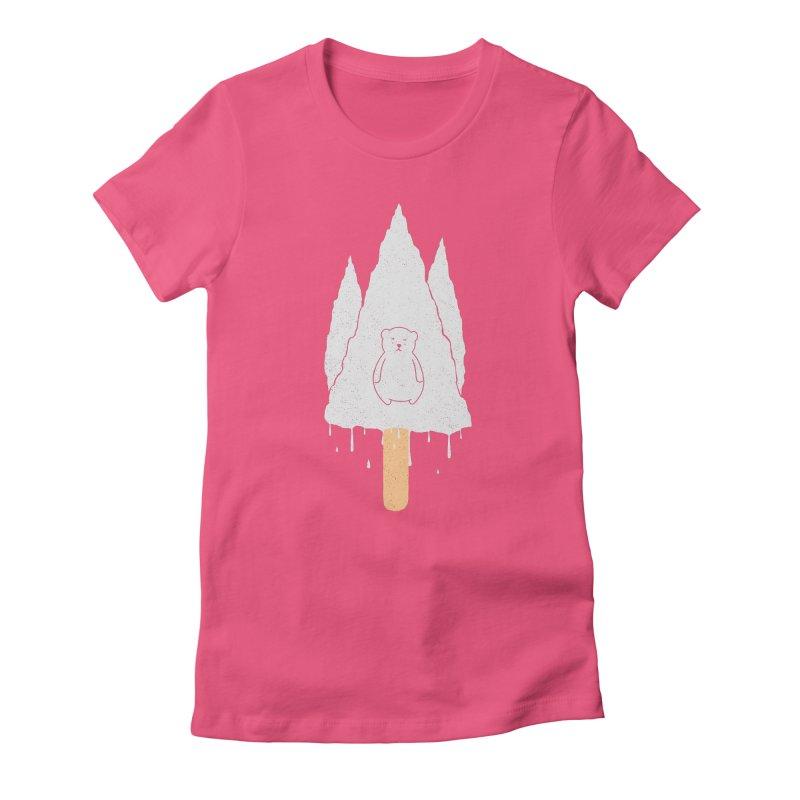 Tear Bear Women's Fitted T-Shirt by eikwox's Artist Shop