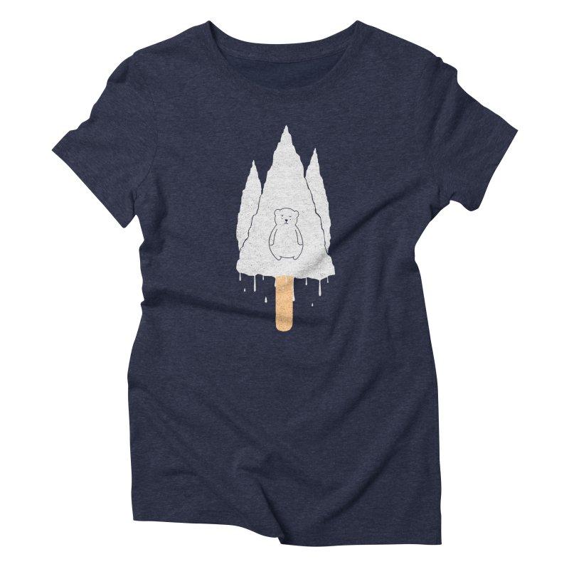 Tear Bear Women's Triblend T-Shirt by eikwox's Artist Shop