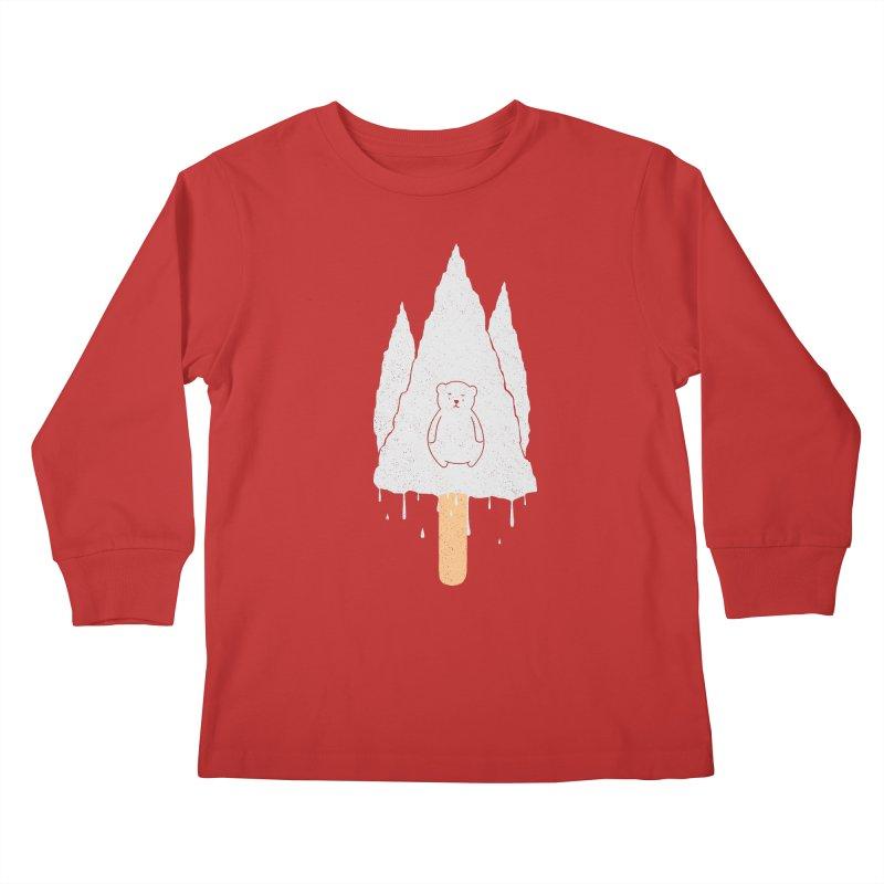 Tear Bear Kids Longsleeve T-Shirt by eikwox's Artist Shop