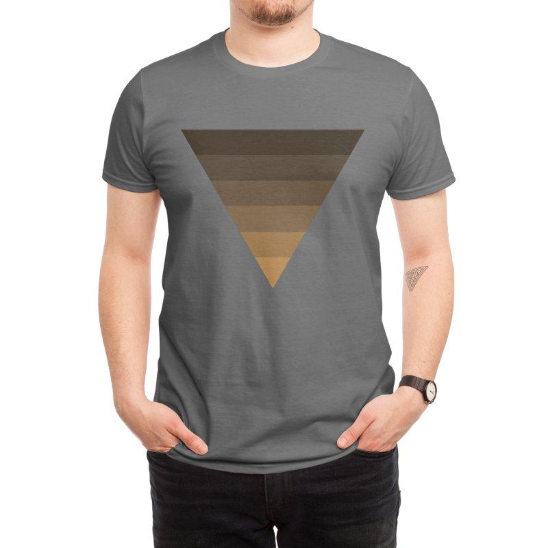 BLM Triangle Men's T-Shirt by EINKATTER