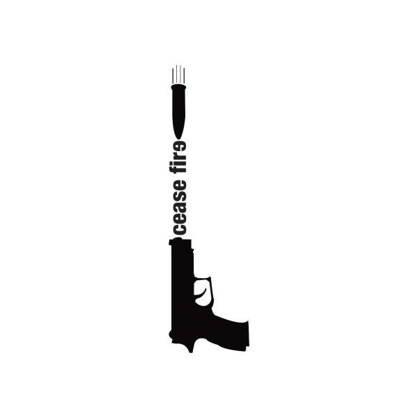 image for Cease Fire, Gun Control T-Shirt