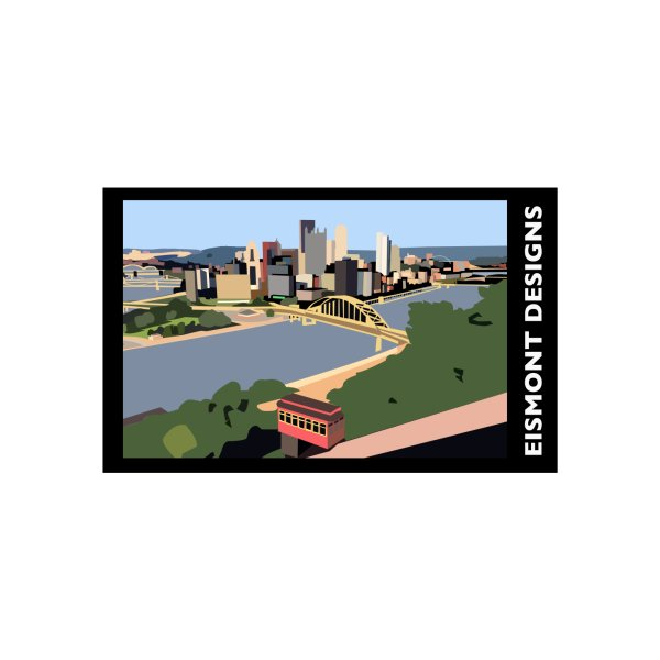 image for Pittsburgh T-shirt Eismont Designs