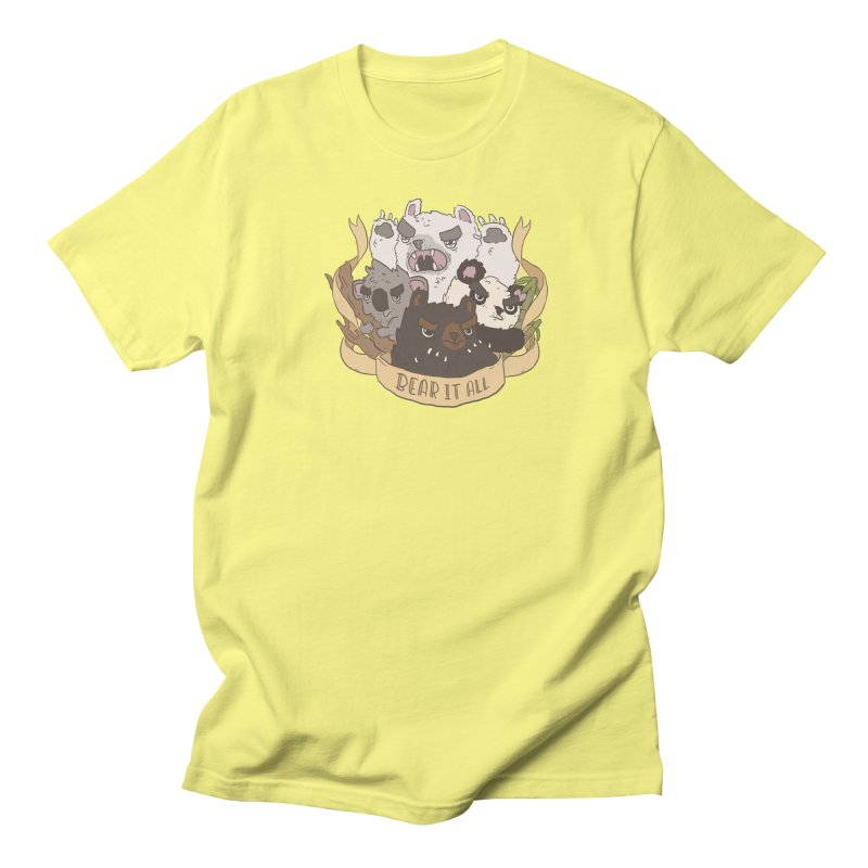 Bear it All Men's T-Shirt by ejcrews's Artist Shop