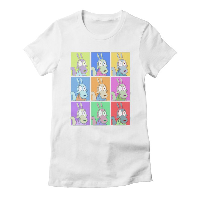 Rocko's Postmodern Life Women's Fitted T-Shirt by ejcrews's Artist Shop