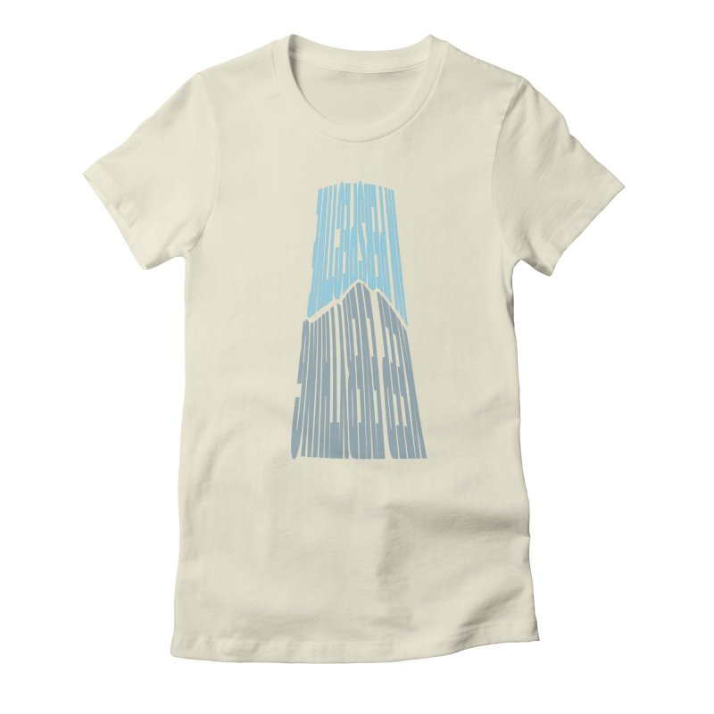 Perspective Women's Fitted T-Shirt by ejcrews's Artist Shop
