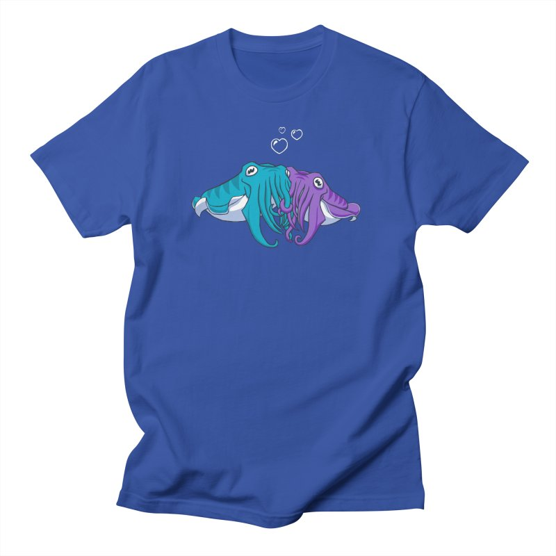 Cuddlefish Men's T-shirt by Emily Kuznia's Artist Shop