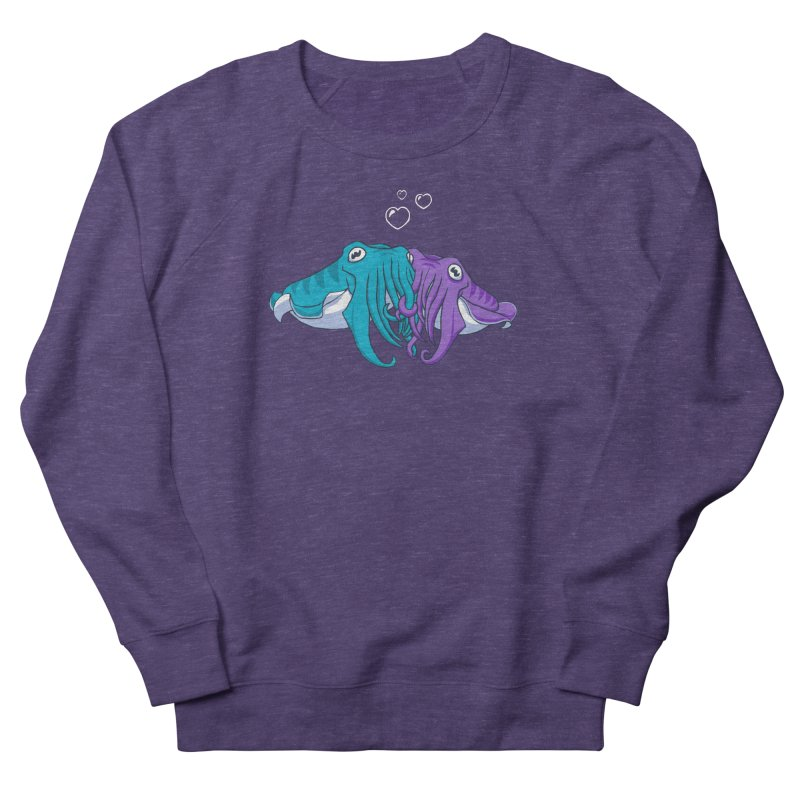 Cuddlefish Women's Sweatshirt by Emily Kuznia's Artist Shop