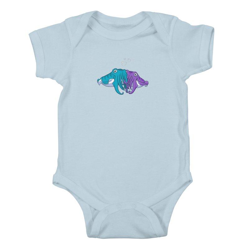 Cuddlefish Kids Baby Bodysuit by Emily Kuznia's Artist Shop