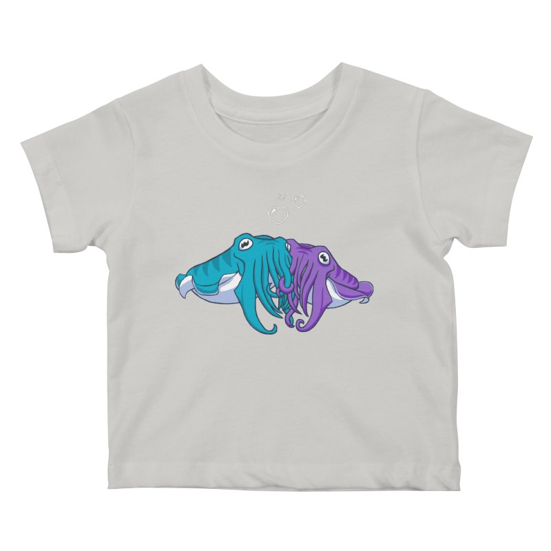 Cuddlefish Kids Baby T-Shirt by Emily Kuznia's Artist Shop