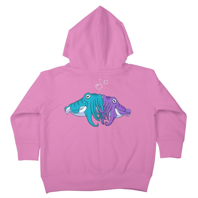 Cuddlefish Kids Toddler Zip-Up Hoody by Emily Kuznia's Artist Shop