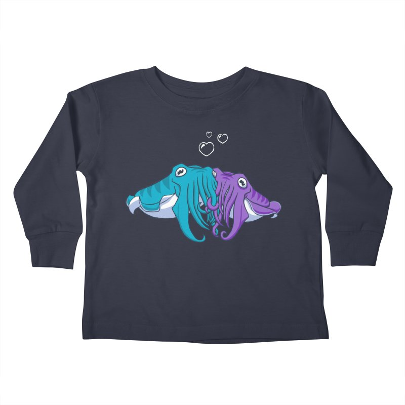 Cuddlefish Kids Toddler Longsleeve T-Shirt by Emily Kuznia's Artist Shop