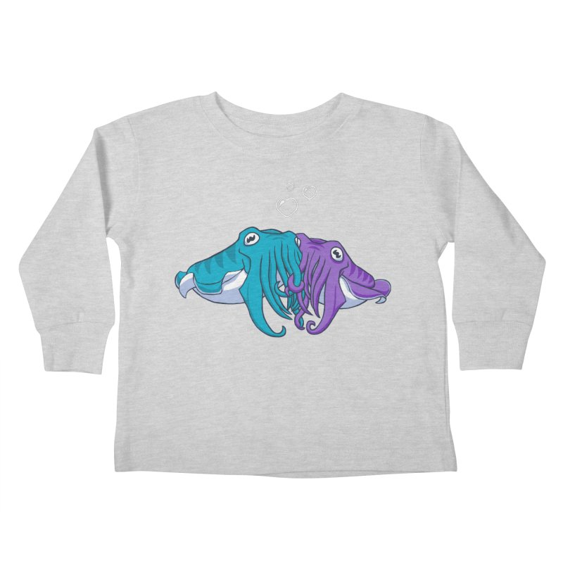 Cuddlefish Kids Toddler Longsleeve T-Shirt by Emily Kuznia's Artist Shop